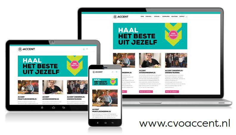 Een nieuw gezicht voor CVO Accent